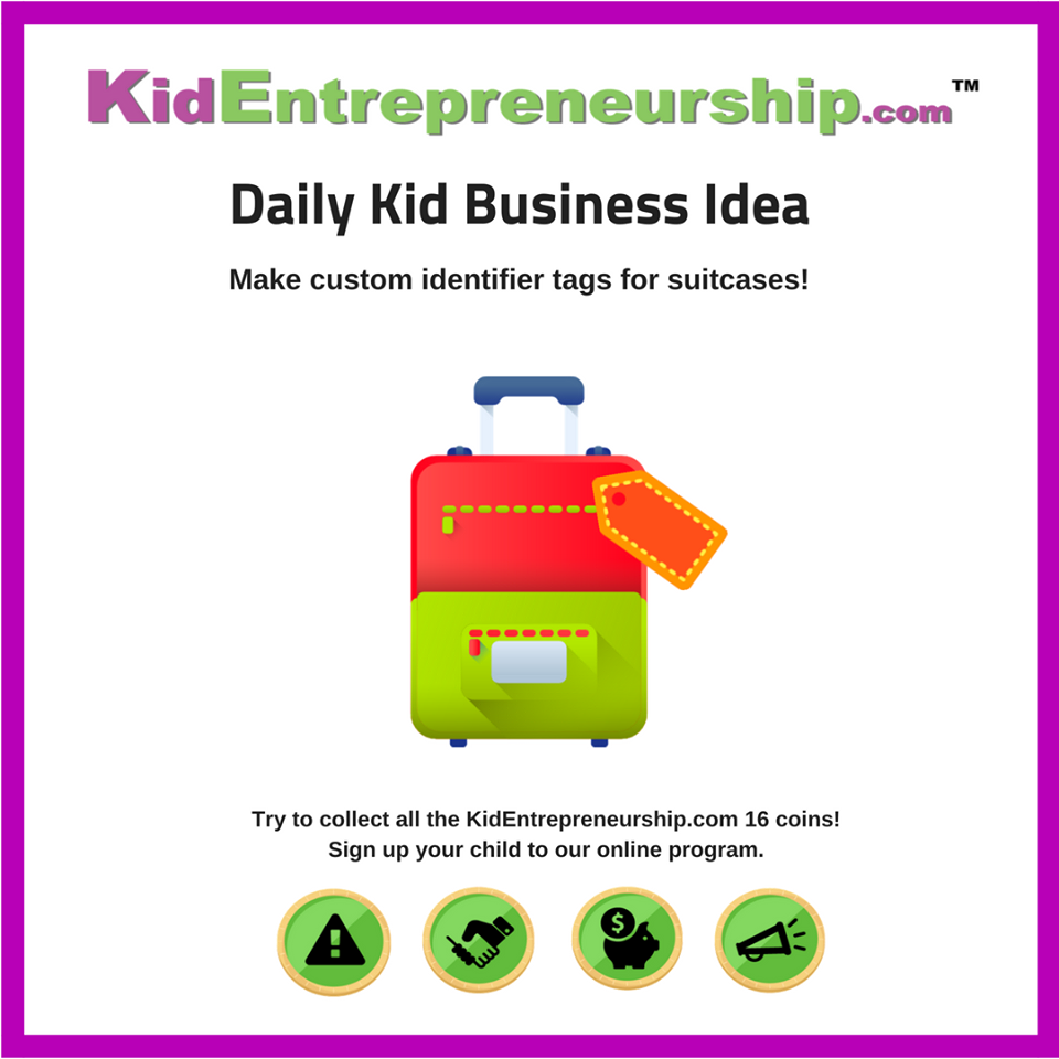 Kid Business Ideas - KidEntrepreneurship.com
